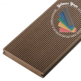Dış Mekan Ahşap Kompozit Deck Parkesi - Light Brown